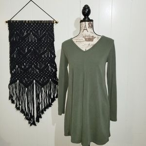 Abercrombie & Fitch Sage Green Dress Size Small
